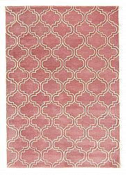 Teppich 160 x 230 cm (wolle) - Korinth (rosa)