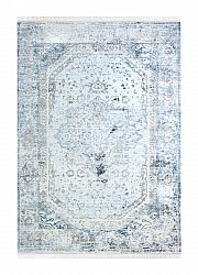Teppich 160 x 230 cm (wilton) - Colourful Medallion (grau)