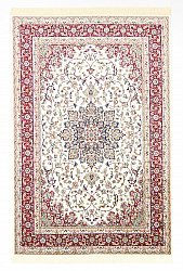 Wilton-Teppich - Gårda Oriental Collection Kerman (weiß/rot)