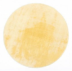 Runde Teppiche - Aranga Super Soft Fur (gold)