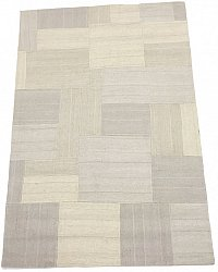 Patchwork Teppich - Superior new wool Patchwork (weiß)