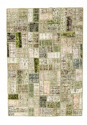 Perserteppich Colored Vintage Patchwork 230 x 160 cm