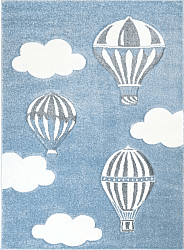 Kinderteppich - Bueno Hot Air Balloon (blau)