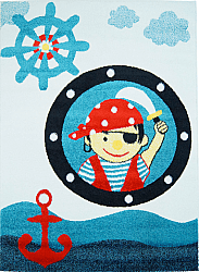 Kinderteppich - Moda Kid Pirate (blau)
