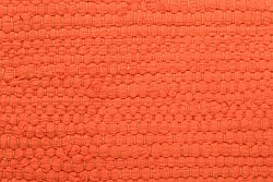 Flickenteppich Groß - Silje (orange) 170 x 240 cm