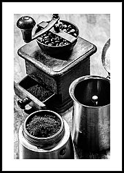 Coffee Pot and Grinder