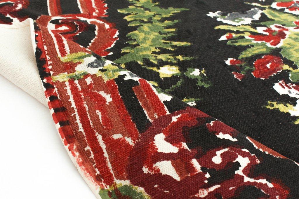 flickenteppich rose rund. Black Bedroom Furniture Sets. Home Design Ideas