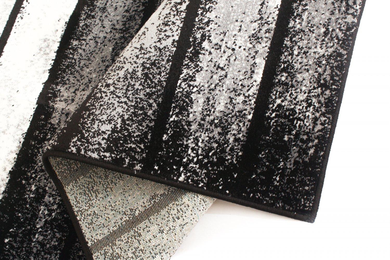 wilton teppich orillo grau schwarz wei. Black Bedroom Furniture Sets. Home Design Ideas