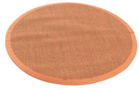rund teppich sisal sucre braun orange. Black Bedroom Furniture Sets. Home Design Ideas