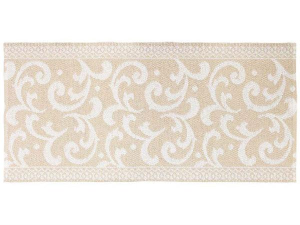 Kunststoffteppiche Der Horred Teppich Barock Beige