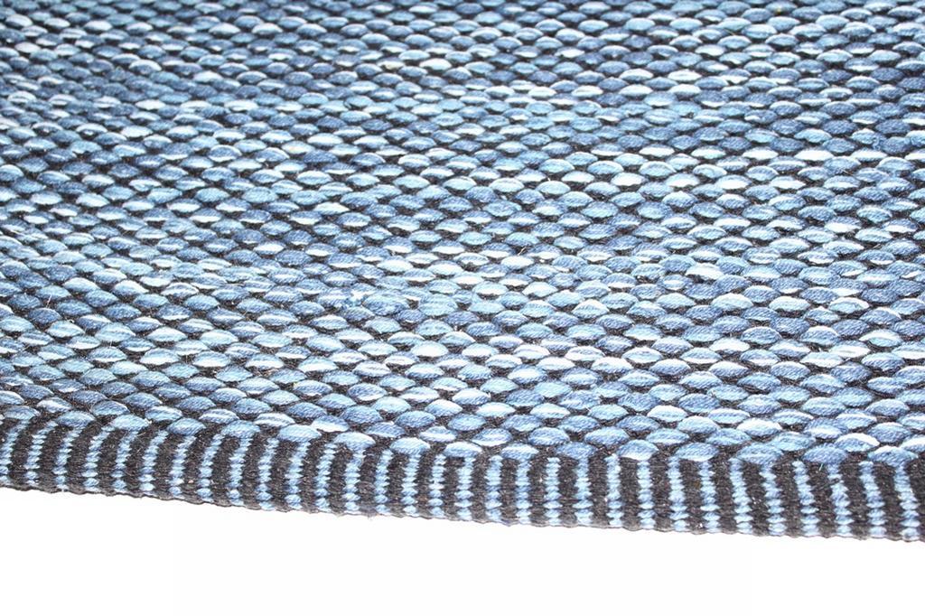 Flickenteppich blau  von Stjerna of Sweden - Tuva (blau)