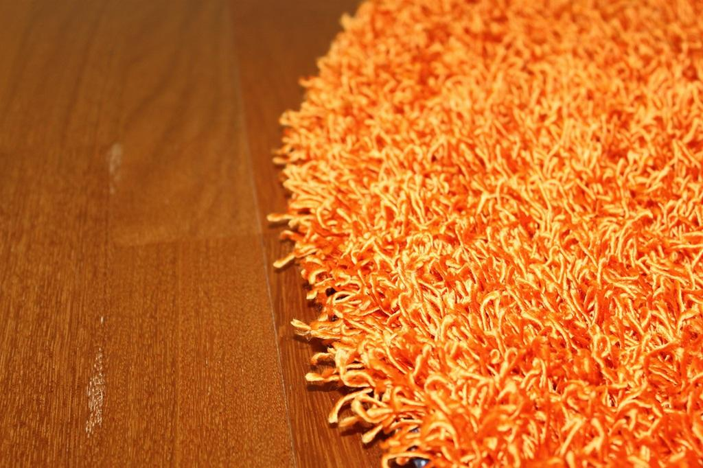 Rund Teppich 200 Cm Fancy Orange Trendcarpet De