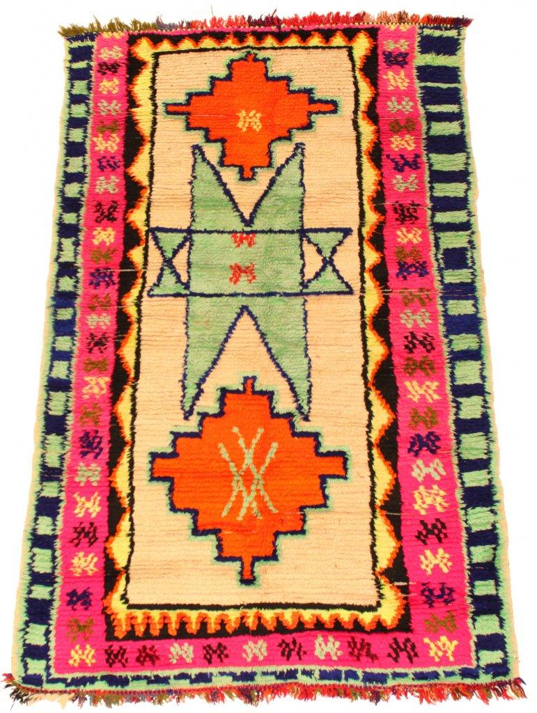 kelim marokkanische berber teppich azilal 195 x 120 cm. Black Bedroom Furniture Sets. Home Design Ideas